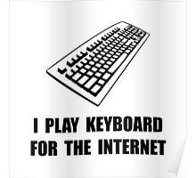 Keyboard Internet Poster