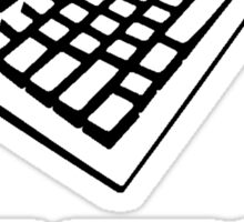 Keyboard Internet Sticker