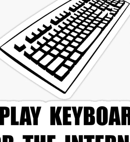 Keyboard Internet Sticker