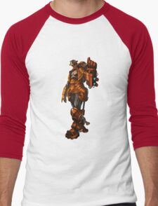 Robbie the robot boy from Submantle Men's Baseball ¾ T-Shirt