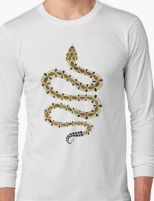 Olive Serpent Long Sleeve T-Shirt