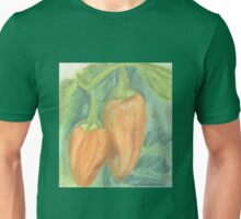 Two Orange Peppers Unisex T-Shirt
