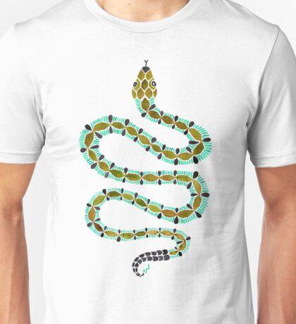 Turquoise Serpent Unisex T-Shirt