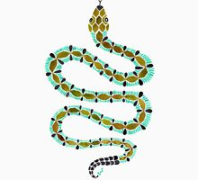 Turquoise Serpent Unisex T-Shirt