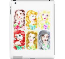 The Garden Of Princesses  iPad Case/Skin