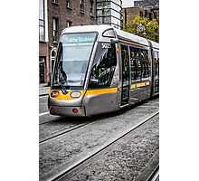 Dublin Public Trams Photographic Print