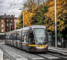 Dublin's City Trams by Chris L Smith