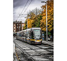 Dublin's City Trams Photographic Print