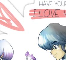 It's Love! PANIC!! - Ranma Sticker