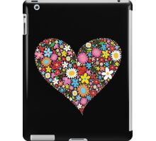 Spring Flowers Valentine Heart iPad Case/Skin
