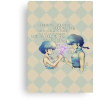 It's Love! PANIC!! - Ranma Canvas Print