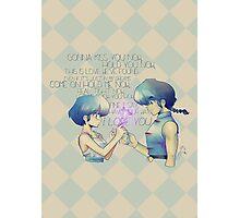 It's Love! PANIC!! - Ranma Photographic Print
