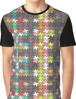 Colorful stars pattern Graphic T-Shirt