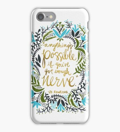 Anything's Possible iPhone Case/Skin