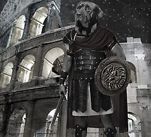 Neapolitan mastiff gladiator by barruf
