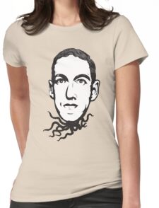 H.P. Lovecraft Womens Fitted T-Shirt