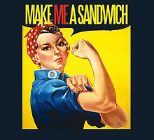 Feminist Make ME a sandwich by Boogiemonst