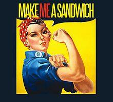 Feminist Make ME a sandwich by Boogiemonst