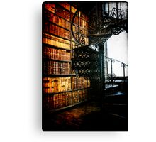 Books, Books and more Books Canvas Print