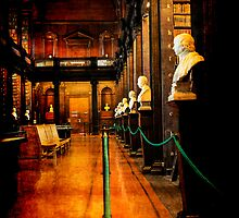 Trinity College Library Dublin by Chris L Smith