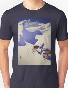 Austrian Ski Poster Unisex T-Shirt