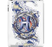 PISCES Aquatic Zodiac sign iPad Case/Skin