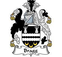 Bragg Coat of Arms / Bragg Family Crest Photographic Print