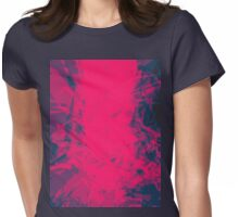 Shattered Purple Womens Fitted T-Shirt
