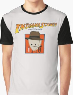 Indiana Scones & The Toaster of Doom Graphic T-Shirt