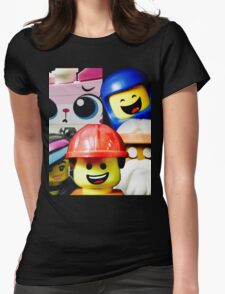 Cos we're Happy! Womens Fitted T-Shirt