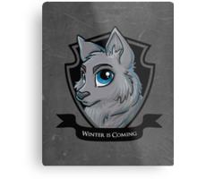 Smallish Stark Metal Print