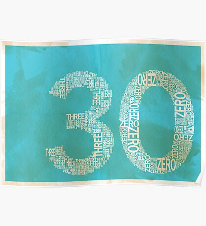 30 Poster