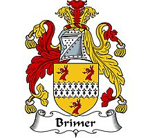 Brimer Coat of Arms / Brimer Family Crest Photographic Print