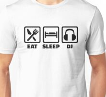 Eat sleep DJ Unisex T-Shirt