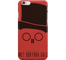 Cabinet of Dr. Galigari - Poster Art iPhone Case/Skin