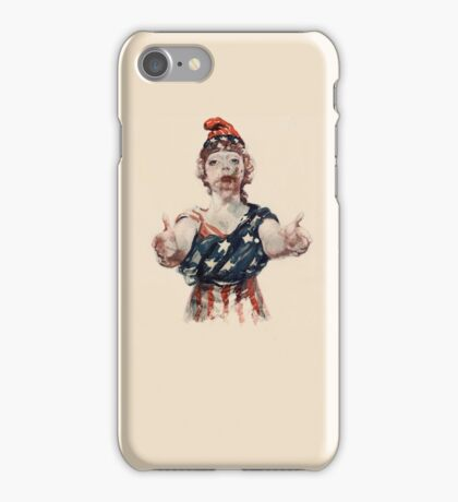 Zombie Lady Liberty iPhone Case/Skin