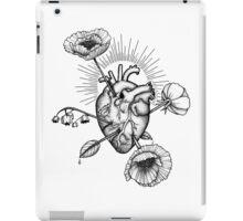 Heart and flowers-arrows iPad Case/Skin