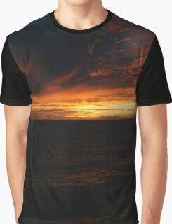 South Pacific Sunset DPG151025c Graphic T-Shirt
