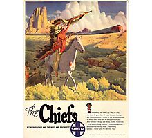 Vintage poster - The Chiefs Photographic Print