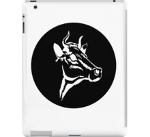 Cow portrait iPad Case/Skin