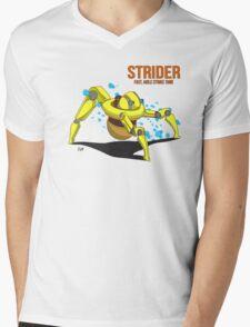 Strider Mens V-Neck T-Shirt