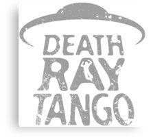Death Ray Tango Logo Canvas Print