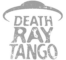 Death Ray Tango Logo Photographic Print