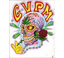 Good Vibes Sugar Skull Photographic Print