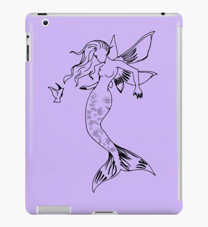Mythical Winged Mermaid iPad Case/Skin