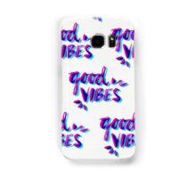Good Vibes – Magenta & Cyan Samsung Galaxy Case/Skin