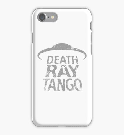 Death Ray Tango Logo iPhone Case/Skin
