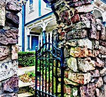 Open Gate by Susan Savad