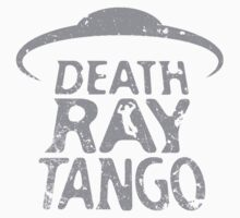 Death Ray Tango Logo Kids Tee