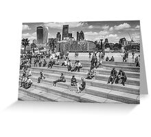 London in summer day Greeting Card